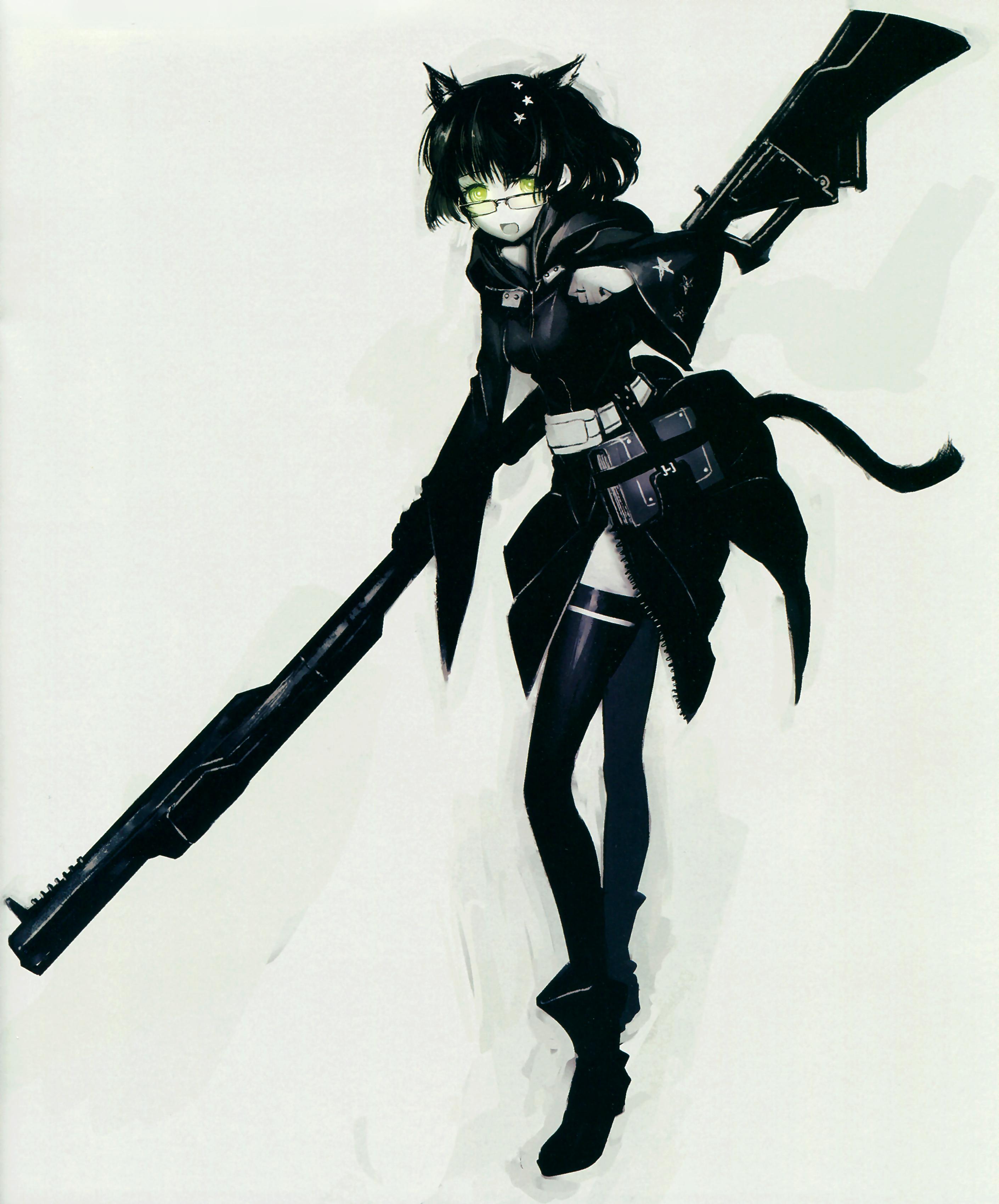 Demon Cannon User Black Rock Shooter Wiki Fandom Powered By Wikia
