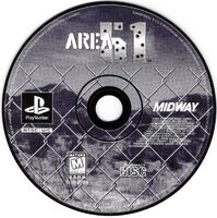 Area 51 PlayStation cd
