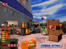 Area 51 PlayStation screenshot game start