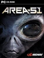 Area 51-2005 Video Game Front Cover