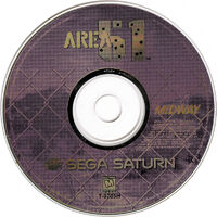Area 51 Sega Saturn cd1