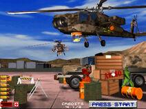 Area 51 Arcade screenshot first level