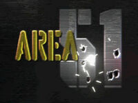 Area 51 PlayStation screenshot title screen