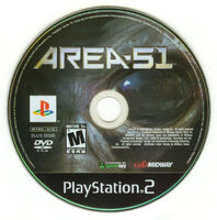 Area 51 PlayStation 2 dvd