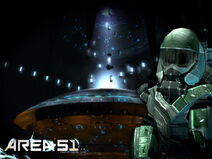 Area 51 Close encounter