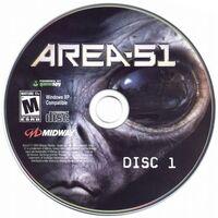 Area 51 (2005) cd