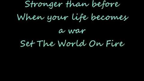 Black Veil Brides Set The World On Fire Lyrics