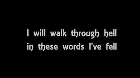 Black Veil Brides - Crown Of Thorns (Lyric video)