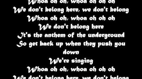 We Don't Belong By Black Veil Brides Lyrics