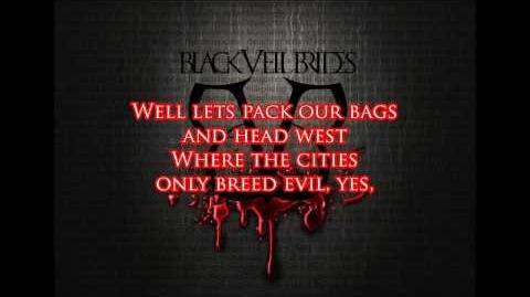 Black Veil Brides - Sex & Hollywood Lyrics (HD)