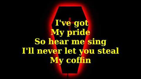 Black Veil Brides - Coffin (Lyrics)