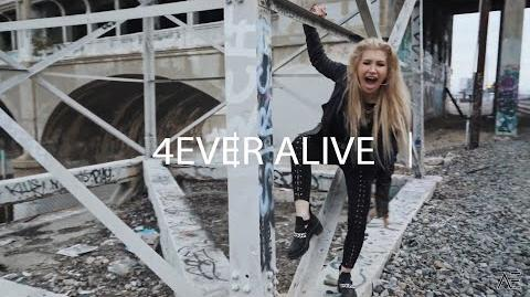 AELONIA - 4EVER ALIVE (Official Lyric Video)