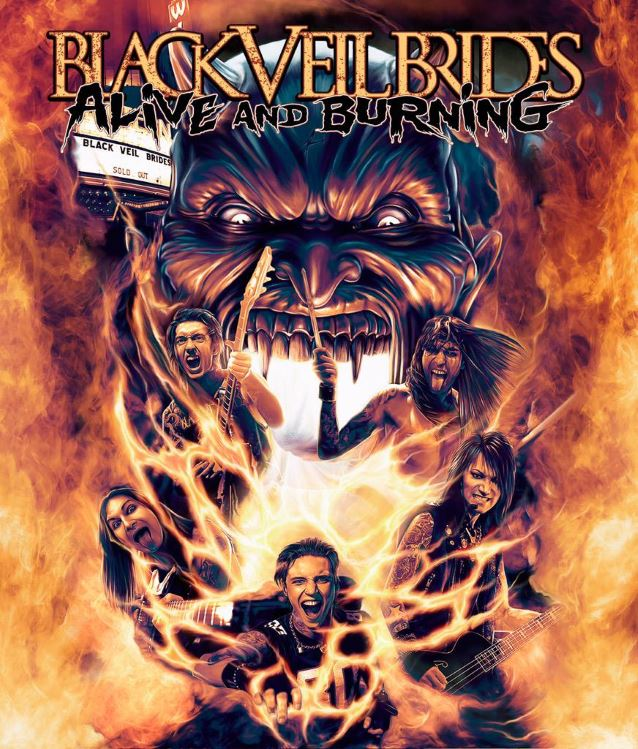Alive and burning black veil brides wiki fandom powered by wikia alive and burning m4hsunfo