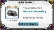Quest Nautical Decorating-Rewards