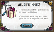 All gifts found