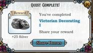 Quest Victorian Decorating I-Rewards