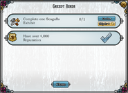 Quest Greedy Birds-Tasks