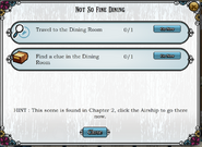 Quest Not So Fine Dining-Tasks