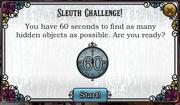 Slueth challange