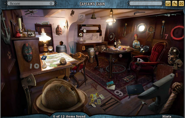 Scene Captain's Cabin-Screenshot