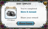 Quest Move It Around-Rewards