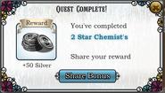 Quest 2 star chemists-Rewards