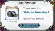Quest Victorian Gardening 3-Rewards