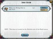 Quest Under Water-Tasks
