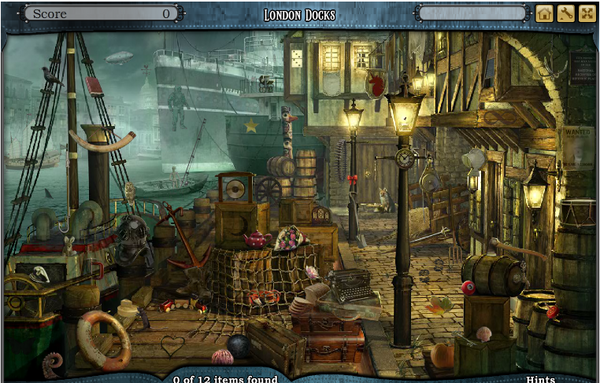 Scene London Docks-Screenshot