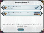 Quest Victorian Gardening 3-Tasks