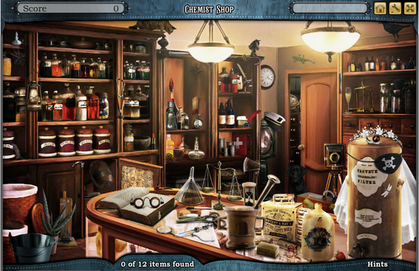 Scene Chemist Shop-Screenshot