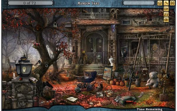 Scene Mansion Yard-Screenshot