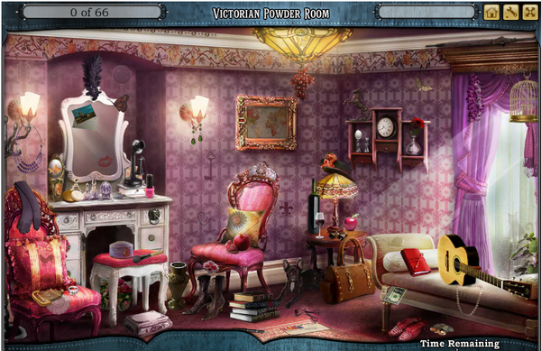 Scene Victorian Powder Room-Screenshot