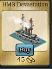 HMS devastation icon