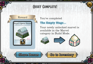 Quest The Empty Stage-Rewards