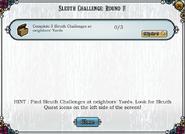 Quest Sleuth's Challenge Round 1-Tasks