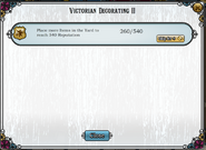Quest Victorian Decorating II-Tasks