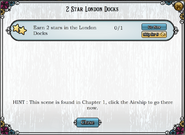 Quest 2 Star London Docks-Tasks