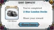 Quest 2 Star London Docks-Rewards