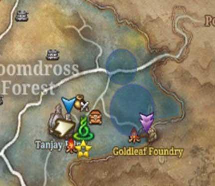 Image - Sidequest gloomdross signed sealed delivered map.jpg | Blade ...