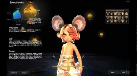 Blade and Soul - Character Creation