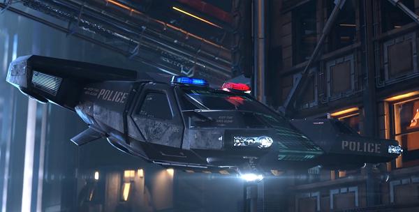 PoliceHovercraft