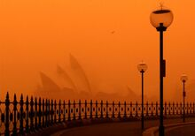 The dust storm in Sydney that inspired 2049 Las Vegas