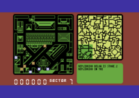 Blade Runner Commodore 64 screenshot there are four replidroids