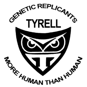 Tyrell Corporation Bladerunner logo