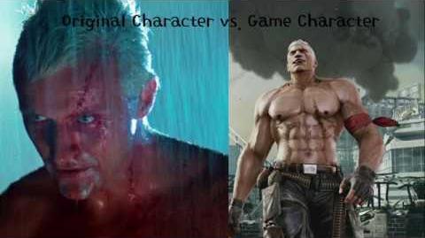 Bryan Fury(Tekken) and Roy Batty (Blade Runner) Original vs. Game