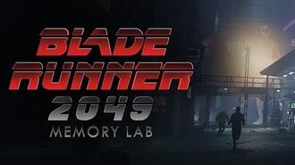 Blade Runner 2049 Memory Lab Trailer