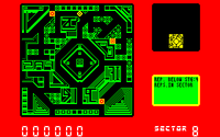 Blade Runner amstrad cpc screenshot three replidroids