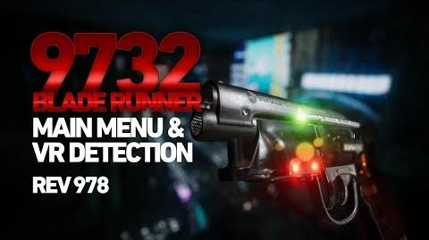 Blade Runner 9732 - Main Menu & VR Detection