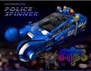 Police Spinner Model